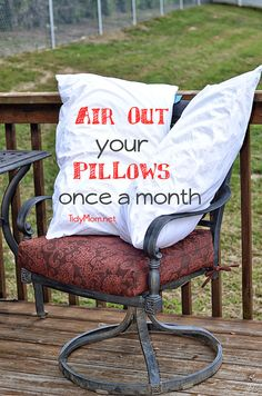 The care and love of pillows :)
