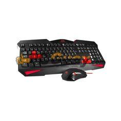El MCP1 es un pack de teclado y ratón gaming perfecto para los gamers más exigentes. Tanto el teclado como el ratón tienen un espectacular diseño gaming y se complementan de manera perfecta para que rindas al máximo en tus partidas.El espectacular diseño del teclado de este MCP1 destaca por sus teclas gaming especiales en rojo y por su iluminación LED roja.