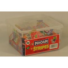 Maoam STRIPES 5p - 120 pk
