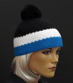 Zimní čepice od kvalitní české firma R Jet For You Scarf Hat, Beanie, Knitted Hats, Crochet Hats, Mittens, Scarves, Winter Hats, Knitting, Jet
