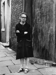 Portrait of an Elderly Lady on a Salford Street by Shirley Baker