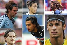 20 Hot Soccer Guys With Long Hair  from the 2014 World Cup, from men in headbands to dreadlocks and including the US's Kyle Beckerman.