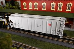 MTH RailKing O Gauge  Milwaukee Road PS-2 Center-Discharge Hopper 30-75507 $54.95 Find It Locally http://www.mthtrains.com/30-75507