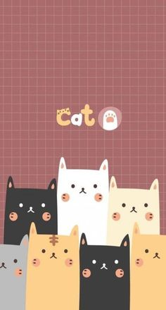 Super Cats Wallpaper Iphone Backgrounds Kawaii Ideas #cats