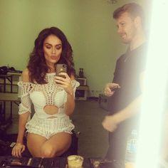 Nicole Trunfio.. wearing white Alice McCall..... - Celebrity Fashion Trends
