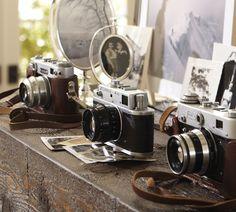 vintage photo vintage camera display
