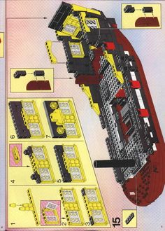 Thousands of complete step-by-step printable older LEGO® instructions for free. Here you can find step by step instructions for most LEGO® sets. Lego Instructions, Lego Sets, Pirate, This Or That Questions, Tutorials, User Guide, Wizards, Teaching