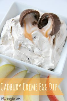 Cadbury Creme Egg Dip -