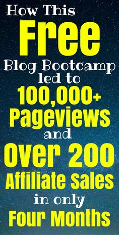 The Billionaire Blog Club's free blogging bootcamp gave a foundation to blogging unlike any other course I've ever seen. I loved it so much that I signed up for their premium course. Now I'm getting lots of traffic and making money in less time than I would have ever imagined. #affiliate #blogging #blog #makemoneyonline