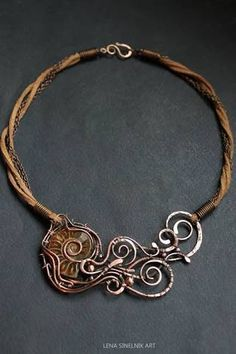 Image result for wire wrap ammonite