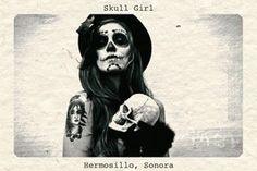 Skull mask/makeup for witches Drug Tattoos, Sugar Skull Girl, Sugar Skulls, Mexican Skulls, Mexican Art, Skull Design, Costume Makeup, Mask Makeup, Dark Fantasy Art