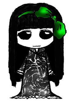 """eine andere Variante Chibi  zu zeichnen. Ich sage gerne """"Mensch ärger dich nicht Figuren"""" da der Körper an diese Spielfiguren erinnert und man sich hauptsächlich auf den Kopf konzentriert. Hier sehen wir Lady Black Chibi, Disney Characters, Fictional Characters, Darth Vader, Draw, Disney Princess, Anime, Lady, Game Pieces"""