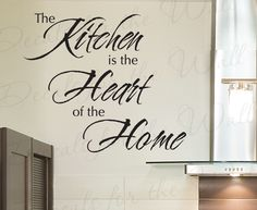 Details About KITCHEN DINING SALON GRAPHIC STENCIL QUOTE FUNNY - Custom vinyl wall decals for dining room