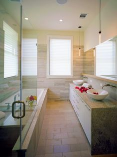 Bathroom NARROW BATHROOM Design, Pictures, Remodel, Decor And Ideas ...All