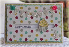 Papercraft Designs: Cupcake Spinner Card