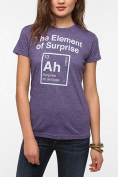 Element Of Surprise Tee  #UrbanOutfitters