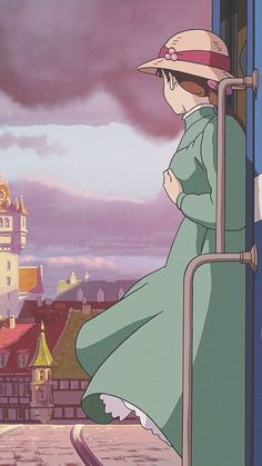 Studio ghibli,howl's moving castle,hayao miyazaki – Best of Wallpapers for Andriod and ios Cartoon Wallpaper, Wallpaper Sky, Aztec Wallpaper, Screen Wallpaper, Photo Wallpaper, Hayao Miyazaki, Howls Moving Castle Wallpaper, Howl's Moving Castle, Studio Ghibli Art