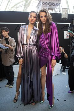 Alexandre Vauthier Fall 2017 Couture Fashion Show Backstage Haute Couture Dresses, Couture Fashion, Diy Fashion, Love Fashion, Runway Fashion, Fashion Show, Fashion Dresses, Womens Fashion, Fashion Design