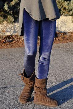 Κολάν βελούδινο μπλε Ankle, Boots, Fashion, Crotch Boots, Moda, La Mode, Heeled Boots, Fasion, Fashion Models