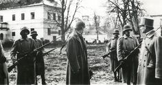 A Romanian officer in the Austro-Hungarian army who refused to fight Romanians during the First World War is arrested, probably to be executed.