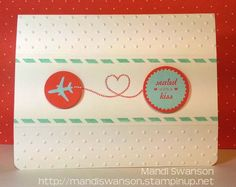 Made with the Sent With Love bundle from Stampin' Up!