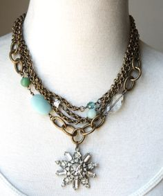 Necklace..this RETAILS for $135.00. This is easily made by a home jewelry maker