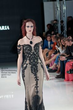 Michael Sta.Maria LA Fashion Week #FW16 #Couture #fashion #runway #4ChionLAFW #beauty #fbloggers #gown #dress