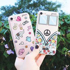 Cute Retro Cases!☮️✌️️