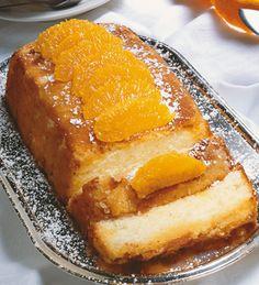 Torta de naranja #receta #tortas #naranja #fruta