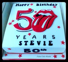 Rolling Stones Cake
