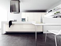 white modern kitchen facility lucrezia of cesar
