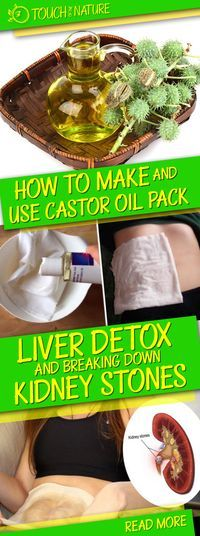 How to Make and Use Castor Oil Pack for a Liver Detox and Breaking down Kidney Stones