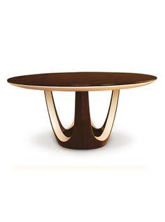 Option for entry Calypso Round Dining Table | Dakota Jackson