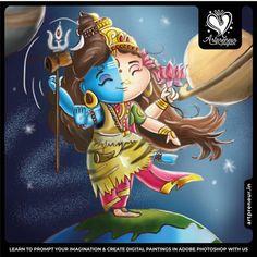 Shiva Parvati Images, Shiva Hindu, Lakshmi Images, Hindu Deities, Hindu Art, Lord Shiva Pics, Lord Shiva Hd Images, Happy Navratri Images, Lord Photo