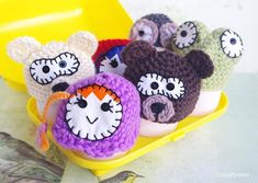 Easter Cute Decor - Cozy Egg hat cover - Fun Crochet decor - Funny Kitchen - Frog Bear Russian Doll Panda Blue And Red Hair, Bear Decor, Gift Sets For Women, Animal Hats, Kawaii, Crochet Accessories, Hand Crochet, Gifts For Kids, Etsy