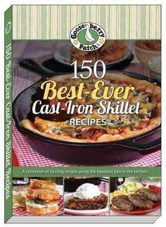150 recipes for your cast iron skillet...including a chapter for other cast iron pans.