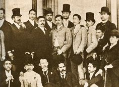 (Marcelo H. del Pilar, Jose Rizal, and other illustrados in Madrid, Spain in… Philippines Culture, Manila Philippines, University Of Santo Tomas, Jose Rizal, Filipino Culture, Chinese Culture, Noli Me Tangere, American War, Vietnam Travel