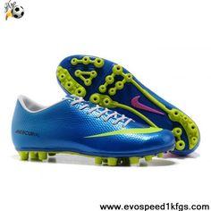 Wholesale Cheap Nike Mercurial Vapor IX AG Blue Volt Pink On Sale