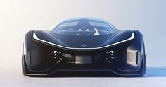 electric automotive startup faraday future finally unveils FFZERO1 concept at CES 2016