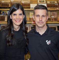 Lissette Perez-Carrillo, co-founder E.P. Carrillo Cigars. E.P. Carrillo's La Historia was awarded the #2 Cigar of 2014 by Cigar Aficionado.