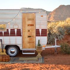 4 Vintage Trailer Makeovers That'll Make You Want to Glamp                                                                                                                                                                                 More