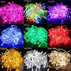 32 feet 100 LED String Fairy Lights Wedding Garden by Christmas168