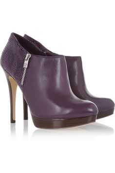 York leather ankle boots by MICHAEL Michael Kors