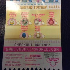 Much clearer shopping list: Limited Edition … Season 3 limited edition Shopkins Outfit, Shopkins Season 3, Lps, Pet Shop, Plushies, Seasons, Website, Board, Clothes
