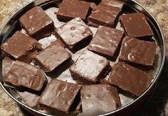 No Bake Desserts, Easy Desserts, Fudge Caramel, Chocolate Delight, New Recipes, Mousse, Fondant, Biscuits, Deserts