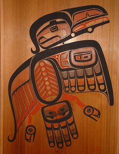 From the British Columbia Museum of Anthropology, Vancouver, Canada.