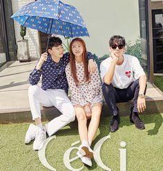 Photo )) Kwon HyunBin for Ceci Korea Magazine July Issue Kwon Hyunbin, Produce 101 Season 2, Jonghyun, Korea, Photoshoot, Seasons, Magazine, Couple Photos, Couples