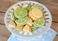 Citrus Slices and Wedges