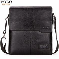 785e6903f747 VICUNA POLO Men Shoulder Bag Classic Brand Men Bag Vintage Style Casual Men  Messenger Bags Promotion