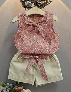 Cheap girls summer sets, Buy Quality suit kids directly from China girls clothing sets Suppliers: Baby Girl Clothes Fashion Cartoon Girls Summer Set Clothes Baby Suits Kids T Shirt +Pants Children Girl Clothing Set Fall 2017 Girls Fashion Clothes, Fashion Kids, Fashion Outfits, Girl Clothing, Style Fashion, Fashion Shorts, Fashion 2014, Classy Fashion, Trending Fashion